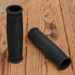 Griffbezug Motorfahrrad, Gummi, schwarz, ballige Form, L: 133 mm, Durchmesser: 25 mm, beidseitig offen