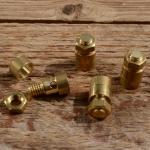 Schraubnippel  D=8.0mm, L=14mm Fix-Bez. 24A, Messing