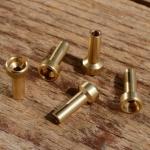 Lötnippel, D=6.0/3.5/2.1mm, L=13.0mm, Messing, FIX Bez. 20A