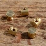 Lötnippel, D=6.0/2.0mm, L=5.5mm, Messing, FIX Bez. 12C