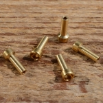 Lötnippel, D=5.0/3.0/1.6mm, L=12.0mm, Messing, FIX Bez. 18A