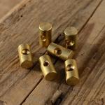 Lötnippel, D=6.0 Bohrung 2.3/4.0mm, L=11mm, Messing
