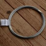 Bowdenzug innen, Innenzug, Rundlitze, Stahl, 1.5mm,  5m Ring