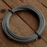 Bowdenzug innen, Innenzug, Rundlitze, Stahl, 2.0 mm,  5m Ring