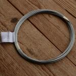 Bowdenzug innen, Innenzug, Rundlitze, Stahl, 1.25mm,  5m Ring