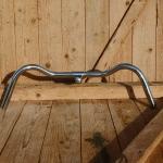 """Lenker, """"NSU Form"""", verchromt 22mm, typische Form der deutschen Tourenräder der 30-50er Jahre"""