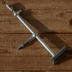Bremsunterteil CAWI, orig. Altbestand, verzinkt, passend für Gestängebremse / Stempelbremse, L max: 35 cm