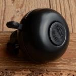 """Glocke """"REICH"""", schwarz, Ding-Dong, 55mm"""