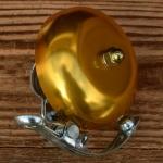 "Glocke ""PING"", für Rennrad/Sportrad, gold, D=57mm"