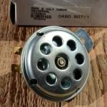Hupe / Schnarre, 6Volt, glanzverzinkt, D=72mm