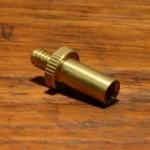 Ventiladapter Sclaverandventil auf Dunlopventil, Messing