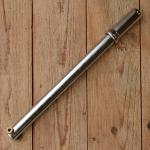 Luftpumpe mit Metallgriff, federnd, von 335 - 350mm, verchromt