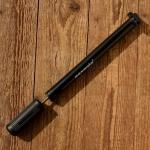 """Luftpumpe """"Saxonia"""", L: 285-325 mm , Kunststoff schwarz, u.a. passend für Velosolex"""
