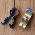 Pumpenhalter mit Kunststoffeinlage, alter DDR-Bestand