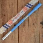 "Luftpumpe ""SILCA IMPERO"", hellblau, federnd, L:47-50cm, Ventilkopf bitte extra ordern"