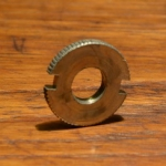 Sicherungsmutter genutet, F+S-Hinterradnabe (TORPEDO-Nabe u.a.) , FG 9.5mm