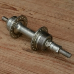 """Nabe Hinterrad, """"UNION"""",  glanzverzinkt, 36Loch, Einbaumaß 130mm, Achse FG 9.5mm"""