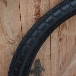 """Motorfahrrad Reifen 26 x 2.50 (2 1/2 - 22), """"Swallow"""", schwarz, passend u.a. für 98er MF"""