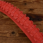 Fahrrad Reifen 26 x 1.95 (54-559), Import, rot, mit Stollenprofil