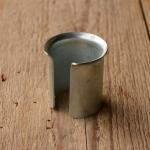 Sattelstützen-Beilage (Kalibrierhülse) 0,5 mm, glanzverzinkt