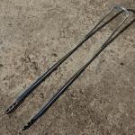Sissybar, verchromt, L=106cm