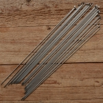 Speichen 2mm, glatt, Edelstahl, ohne Nippel, Länge: 298 mm
