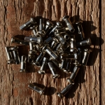Speichennippel 2mm, D-Schaft=4.0mm, L=11mm Messing vernickelt