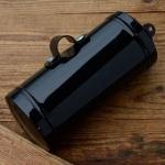 Werkzeugdose pass. für Motorfahrrad Sachs 98 ccm, schwarz, mit klappbarem Deckel u. Schellen