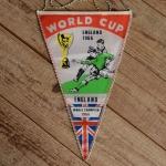 "TOBI-Wimpel ""World CUP 1966 ENGLAND"", 60/70er Jahre Altbestand"