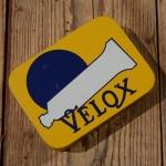 """Flickzeug, """"VELOX"""", Blechkasten, orig.50-60er Jahre, mit Inhalt"""