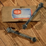 """Nippelspanner / Speichenschlüssel """"ELDI"""", Moped/Motorrad, orig. Altbestand 50er Jahre, leichte Lagerpatina"""