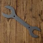 """Flachschlüssel / Doppelgabel Schlüssel """"ICE TOOLZ"""" SW 30/32 - 36/40mm, ideal für Steuersatz / Kontermuttern, L=290mm"""