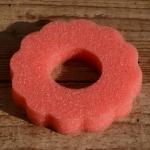 Tankring, Schaumstoff, rot, D=85mm, H=15mm, passend für 30-40 mm Stutzen
