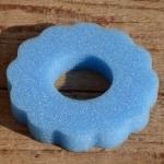Tankring, Schaumstoff, blau, D=85mm, H=15mm, passend für 30-40 mm Stutzen