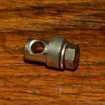 Strebenbefestigungsbolzen, M5 x 7mm , orig. Altbestand