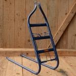 Gepäckträger, passend für 28 Zoll Fahrräder, blau lackiert, B=160mm H=410mm
