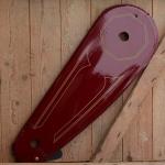"""Kettenschutz, """"Kettenkasten NL"""", weinrot, beschichtetes Tuch, L=66cm, passend für 28 x 1 3/8 x 1  5/8 (622)  Hollandräder"""