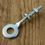 Kettenspanner, gekröpft, glanzverzinkt,   D=27/12.5mm, L=83mm, M6, für Mopeds 60-80er Jahre