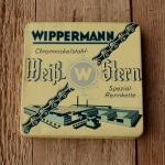 """Rennrad Kette """"Wippermann Weißstern"""", Blockkette, 1"""" x 3/16"""", 108 Gld. NOS"""