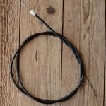 Bremszug , schwarz, L=1320/1180mm, D=5/1.7mm