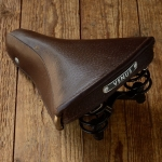VENUS -  Sattel für Fahrradklassiker/Sportrad, rare, alte Neuware 30/50er J., Leder