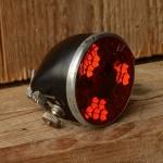 Rücklicht, 30er bis frühe 60er Jahre, Metallgehäuse mit Echtglaseinsatz, ideal für frühe Klassiker, Hollandräder etc.
