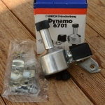 Dynamo UNION 6701, orig. Altbestand 60-80er Jahre, 6V/3W, incl. Halterung, Linksläufer !!!