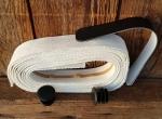 """Lenkerband """"Baumwolle"""", weiß, 30 mm breite und  extra dicke Ware für ein gutes Griffgefühl!, Satz incl. Stopfen etc."""