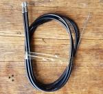 """Bremszugsatz  """"MODOLO"""", schwarz,  für Rennräder, alte Neuware!, siehe Abbildungen."""