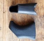 Bremshebel Überzug AERO, schwarz, neutral,  passend für div. Bremshebel 60-80 er Jahre, u.a. Shimano und Weinmann, Neuauflage