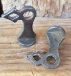 Pumpenhalter zum einlöten, orig. 30-60er Jahre,  sehr stabil, Paarpreis
