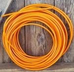 Bowdenzug Außenhülle, orange,  Durchmesser außen 4.8mm, Durchmesser innen 2.5mm, 1 Meter