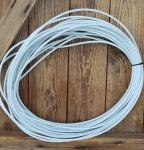 Bowdenzug Außenhülle, altweiß,  Durchmesser außen 4.8mm, Durchmesser innen 2.5mm, 1 Meter