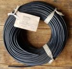 Zündkabel, schwarz, D=5mm, 50cm Stück, orig. aus altem Lagerbestand Eisemann (Kroschu)
